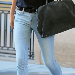 Levi's Light Blue Skinny Jeans Low Rise